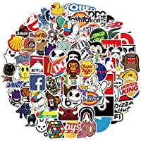 LSHLSH Cool Merk Logo Sticker Skateboard Mobiele Telefoon Auto Gitaar Bagage Muur Diy Waterdichte Graffiti Sticker…