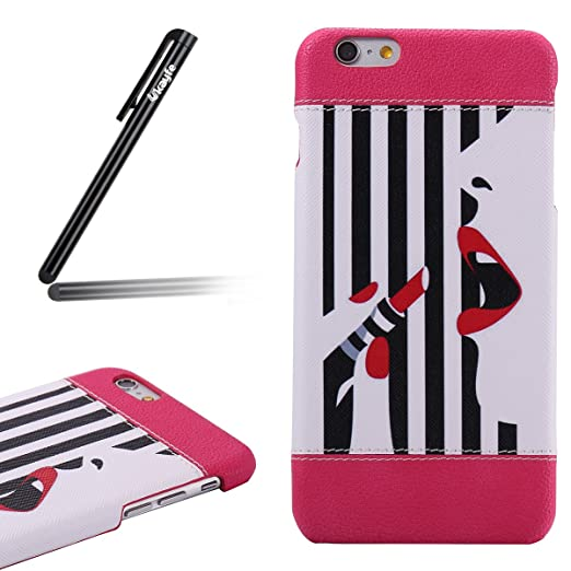 3 opinioni per Custodia iPhone 6/6S plus 5.5,iPhone 6/6S plus 5.5 Cover Thin,Ukayfe Bella