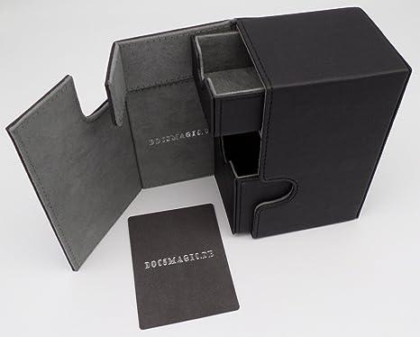 docsmagic.de Premium Magnetic Tray Box (80) Black + Deck Divider ...