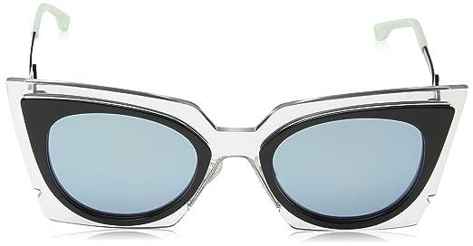 Womens Ff 0041/S 9R Sunglasses, Ltpk, 52 Fendi