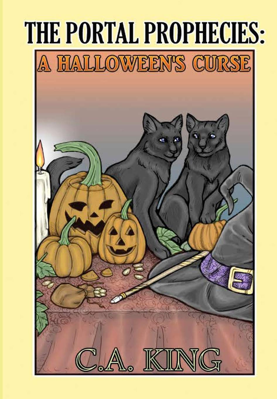 The Portal Prophecies: A Halloween's Curse ebook