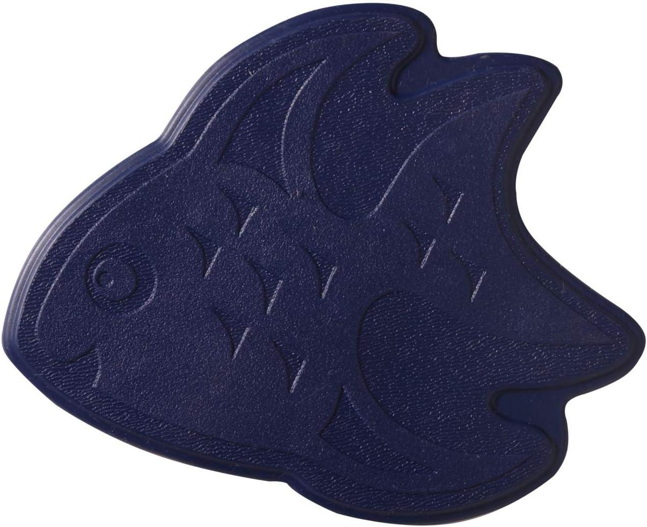 und Wanneneinlage XXS Fische ultramarinblau 13x11 cm RIDDER Mini Dusch