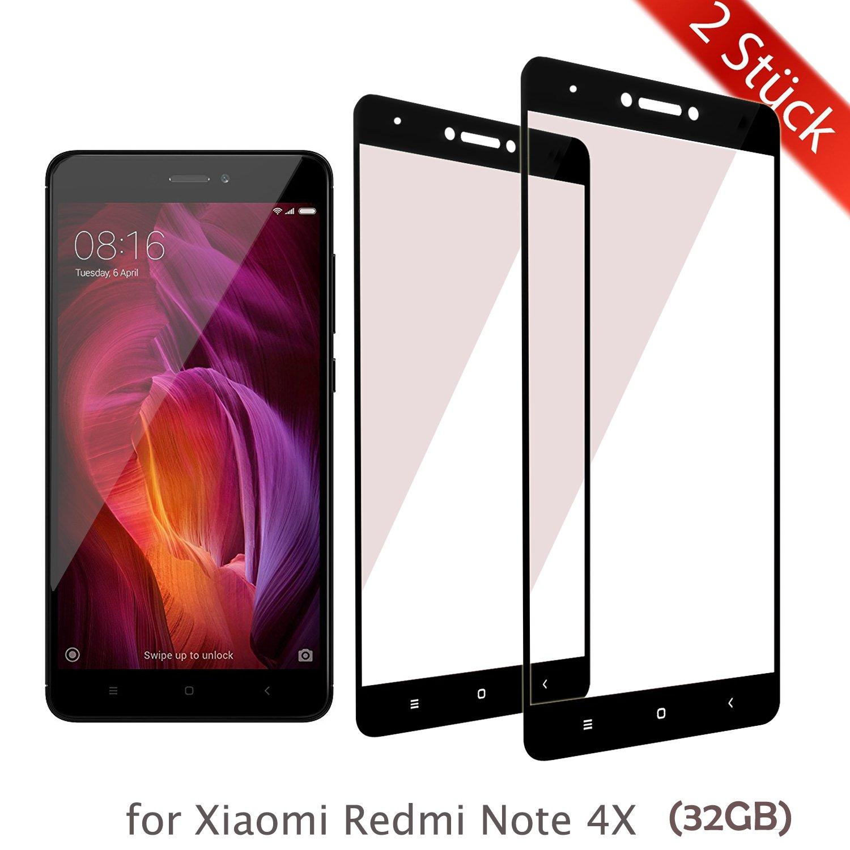 ykooe Xiaomi Redmi Note 4X Schutzfolie Panzerglas Amazon Elektronik