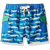 5332d38830 Amazon.com: Mud Pie Baby-Boys Newborn Shark Swim Trunks: Clothing