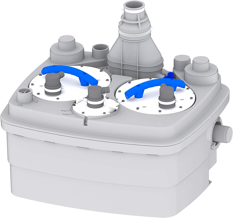 SFA Sanicubic 2 Pro Hebeanlage mit Doppelpumpe - Fäkalienhebeanlage Test