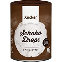 Xucker Chocolate-Drops, 75% Kakao, 1-er Pack (1 x 200 g)