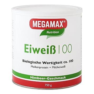 MEGAMAX - Eiweiß - Proteínas de suero de leche y proteínas lácteas - Crecimiento muscular y