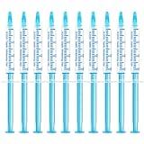 EZGO 10 Pack Teeth Whitening Gel Refills 22% Bleaching Gel, No Sensitive Teeth Whitener, Great for Sensitive Tooth…