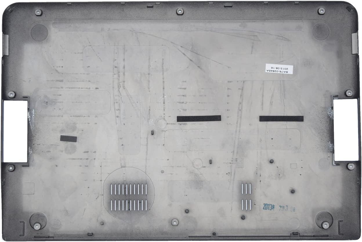 NODRLIN Laptop Part for Samsung NP900X3A 900X3A Bottom Cover Back Case Base Lid BA75-02845A