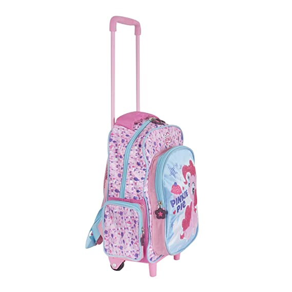 25180111 My Little Pony Kids Trolley Bag Pinkie Pie Design With Wheels Adjustable  Handle XS-Stock Com Ltd Suitcases ...