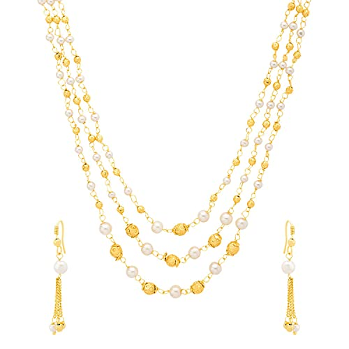 54e07ccc80e2d2 Buy Voylla Copper Choker Necklace for Women (Golden)(8907617493671) Online  at Low Prices in India