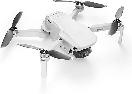 DJI Mavic Mini - Dron Ultraligero y Portátil, Sin Care Refresh, Duración Batería 30 minutos, Sin Tarjeta, Distancia Trasmisión 2 Km, Gimbal 3 Ejes, 12 ...