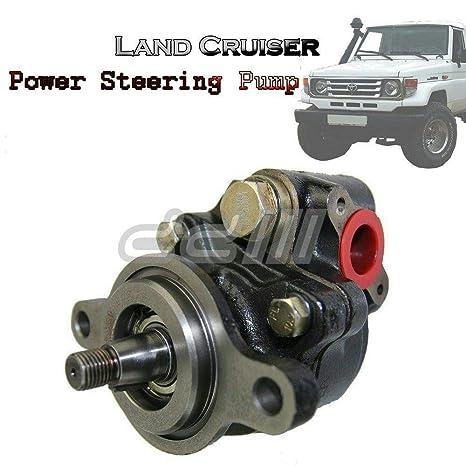 1 pcs Bomba de dirección asistida para Toyota Landcruiser 80 serie 1 Hz 1HD 1HDFT hzj75