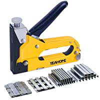 Deals on Yeahome 4-in-1 Stapler Gun with 4000 Staples