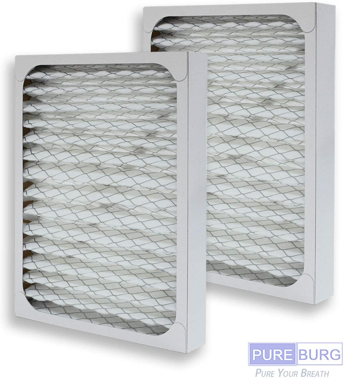 PUREBURG 2-Pack Replacement HEPA Air Filters for Hunter HEPAtech 30928 fits 30057 30059 30060 30067 30078 30079 30124 30126 Air Purifiers