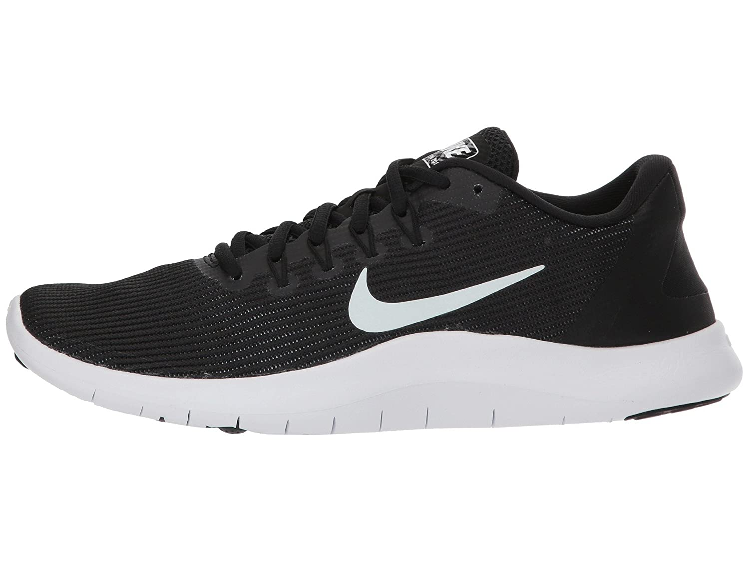 NIKE Women's Flex RN 2018 Running Shoe B075ZY97L6 10.5 B(M) US|Black/White-black