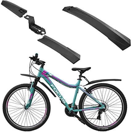 MTB Road Fahrrad Schutzbleche Vorne Hinter Kotflügel Kotflügelschutz Neu