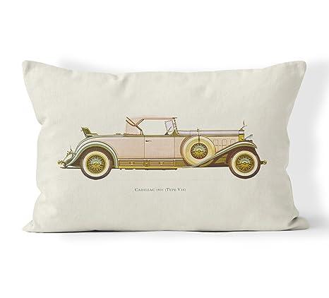 Vintage cubierta Cojín almohada manta de algodón lino ...