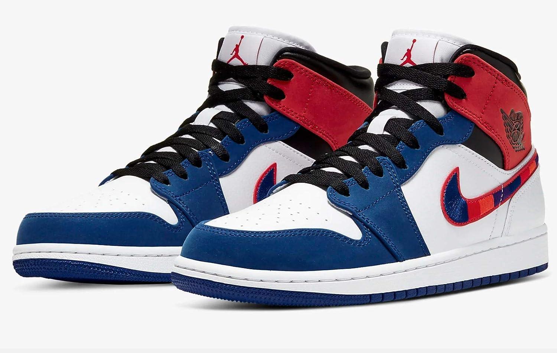 Nike Air Jordan 1 Mid Se Zapatos de Baloncesto para Hombre