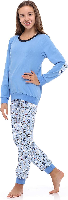 Merry Style Pijama Conjunto Camiseta y Pantalones Ropa Ni/ña MS10-238