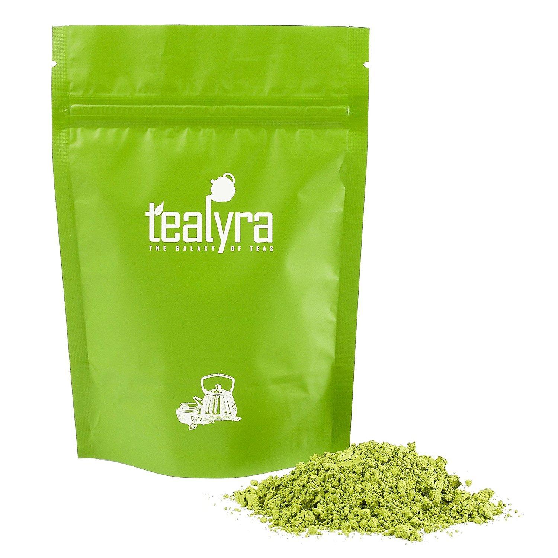 Tealyra - 8oz (220g) - Japanese Premium Matcha Green Tea Powder - Organic - Izu peninsula, Tokyo - Best Healthy Drink
