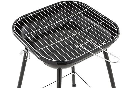 BBQ Barbacoa de carbón Bragado transportable en maletín - Acero - Color VERDE: Amazon.es: Hogar