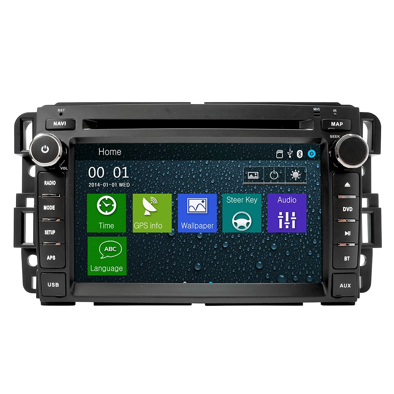 Amazon.com: Chevrolet Silverado BOSE 07-12 OEM Replacement In Dash Double  Din Touch Screen GPS Navigation Radio 2007-2010 [s60]: GPS & Navigation