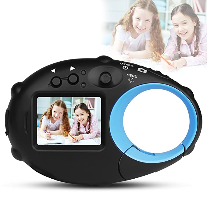 Review Yasolote Kids Childrens Point and Shoot Digital Video Cameras,HD Mini Digital Video Recorder Camcorder Camera for Boys Girls