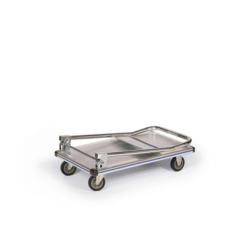 750x470mm Stabilux Aluminium-Magazinwagen klappbar 150kg