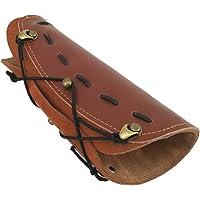 WEREWOLVES Weiche und Massive Leder Armschutz für Bogenschießen