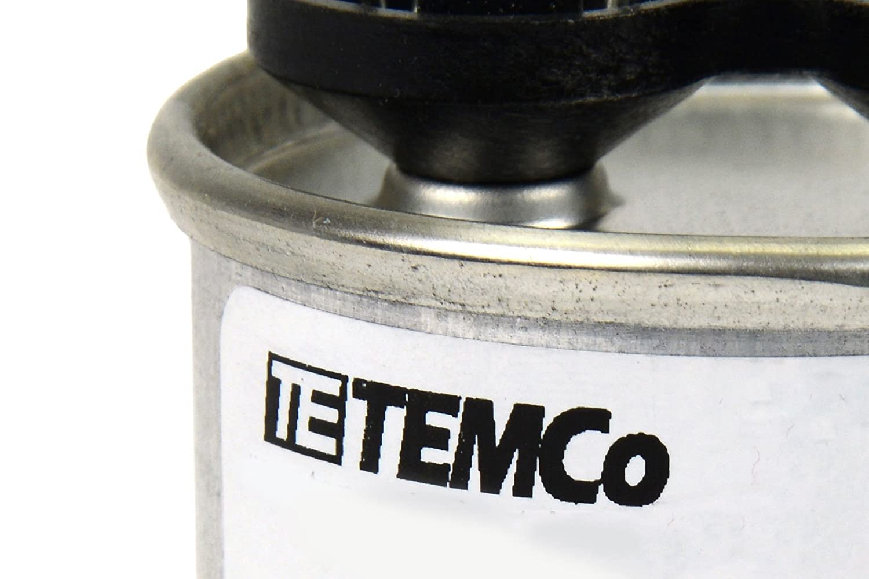 Temco Motor Run Capacitor Rc0007 10 Mfd 370 V Vac Volt Franklin Electric Control Box 2823008110 Uf Round Hvac Ac Industrial Scientific