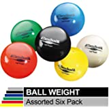 """TheraBand Soft Weight, 4.5"""" Diameter Hand Held Ball Shaped Isotonic Weighted Ball for Isometric Workouts, Strength…"""