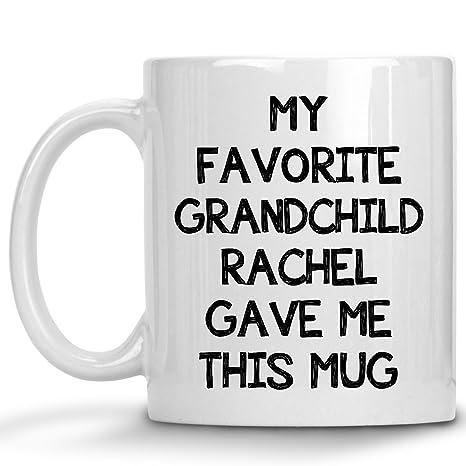 Amazon.com: Personalizado abuelo taza de regalo – favorito ...