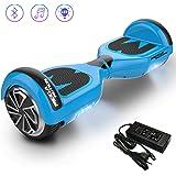 """Mega Motion Hoverboard E1 - Gyropode électrique 6.5"""" -Bluetooth - Sécurisé UL CE"""