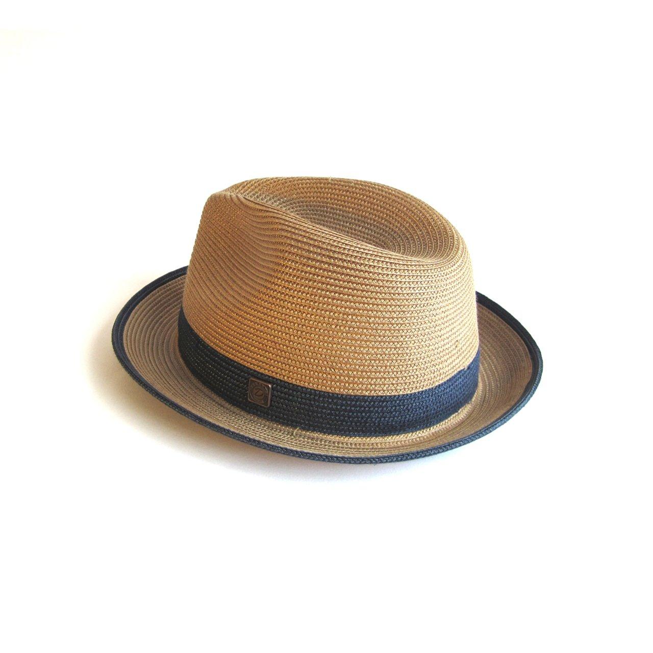 e7fbc4c231c727 Dasmarca Mens Womens Summer Straw Fedora Wide Brim Hat: Amazon.co.uk:  Clothing
