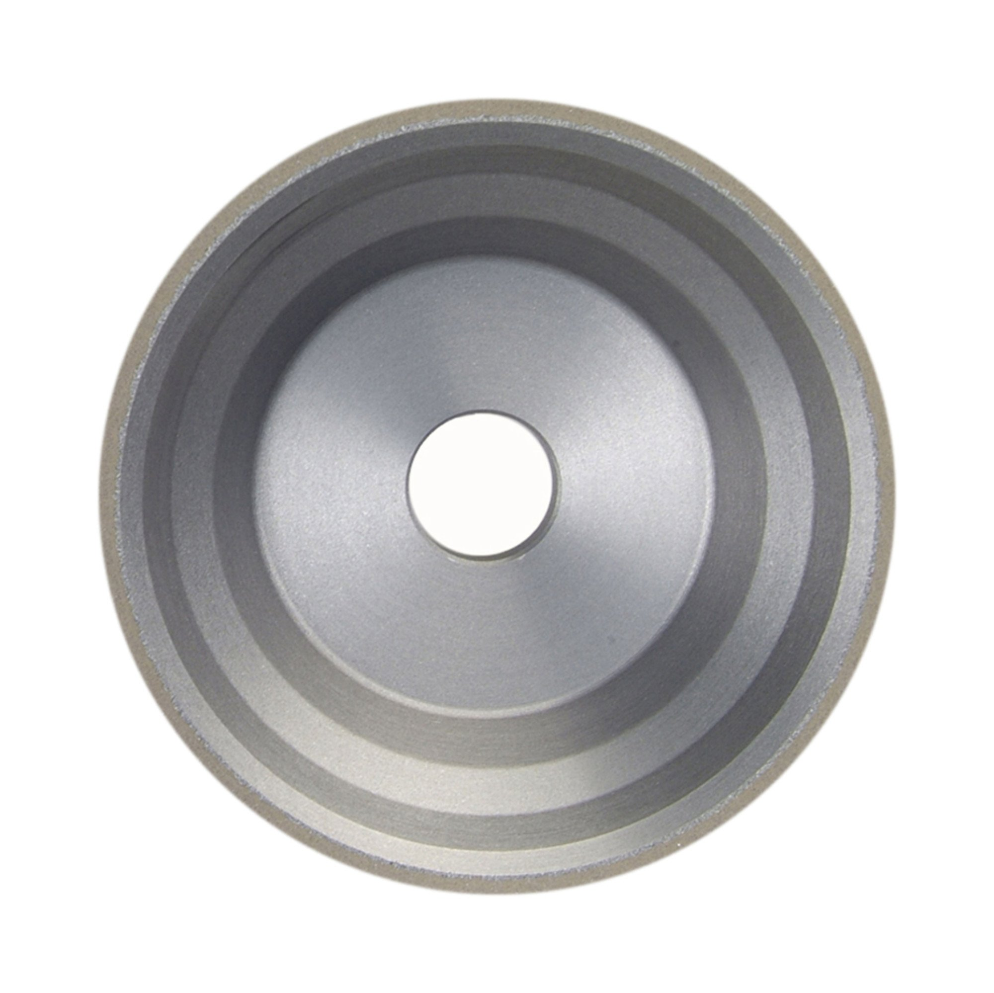 Norton Diamond Wheel 3-3/4'' Diameter 1-1/2'' Width 120 Grit Roughing Application 11V9 Diamond Wheel