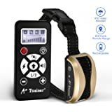 A+ Trainer 800 Yards Range Remote Dog Training Collar,(5 Years Warranty) Rechargeable and Waterproof Dog Shock Collar with Beep, Vibration and Shock Dog Collar for Small, Medium and Large Dogs