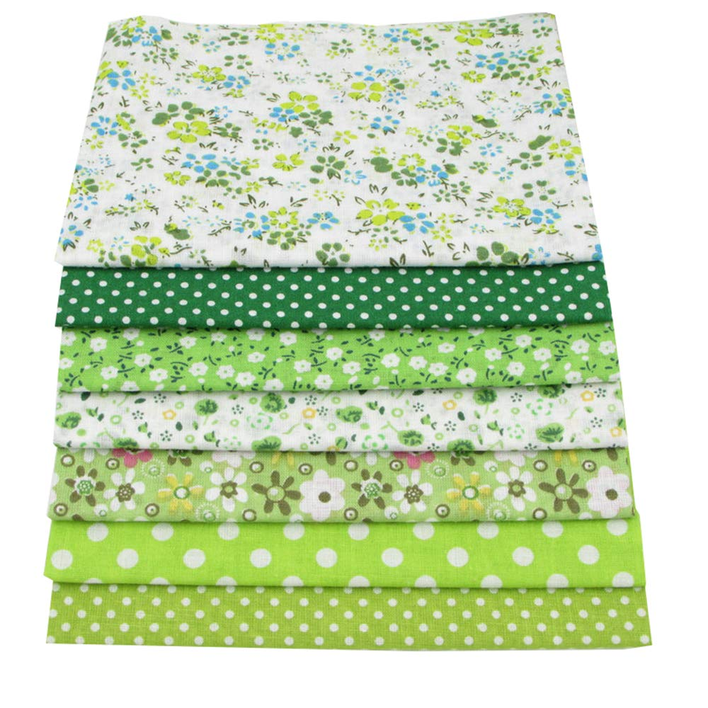 56pcs/lot 9.8'' x 9.8'' (25cm x 25cm) No Repeat Design Printed Floral Cotton Fabric for Patchwork, Sewing Tissue to Patchwork,Quilting Squares Bundles by BYY (Image #7)