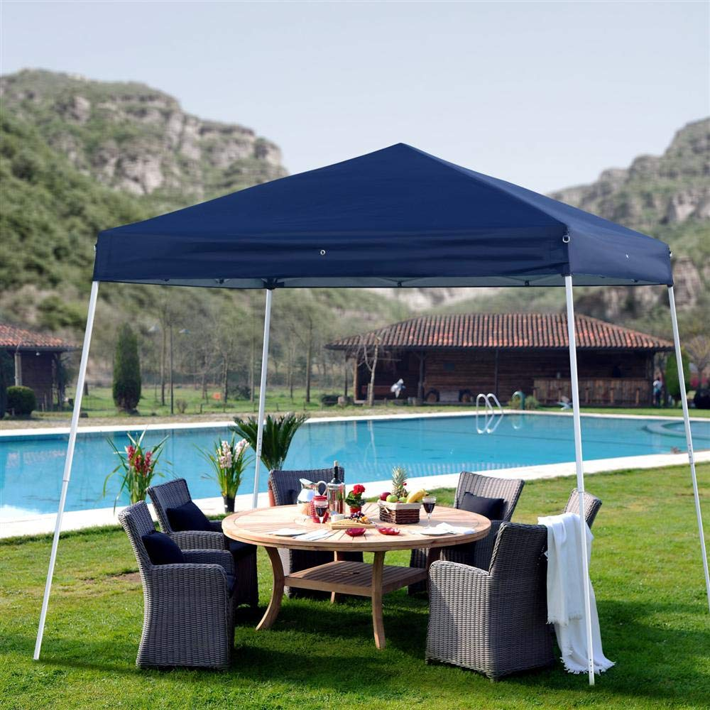 Yaheetech 3M x 3M Easy Pop Up Gazebo Party Tent Wedding Marquee Garden Outdoor BBQ Party Tent
