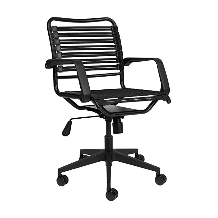 The Best Black Bungee Office Chair With Arms