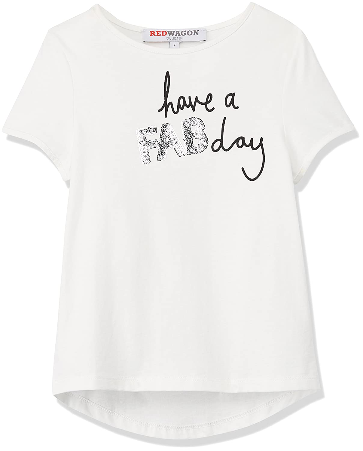 RED WAGON Mädchen T-Shirt have A Fab Day Tee 2618