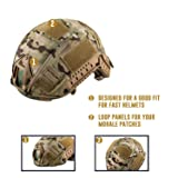 OneTigris Camouflage Helmet Cover Without Helmet
