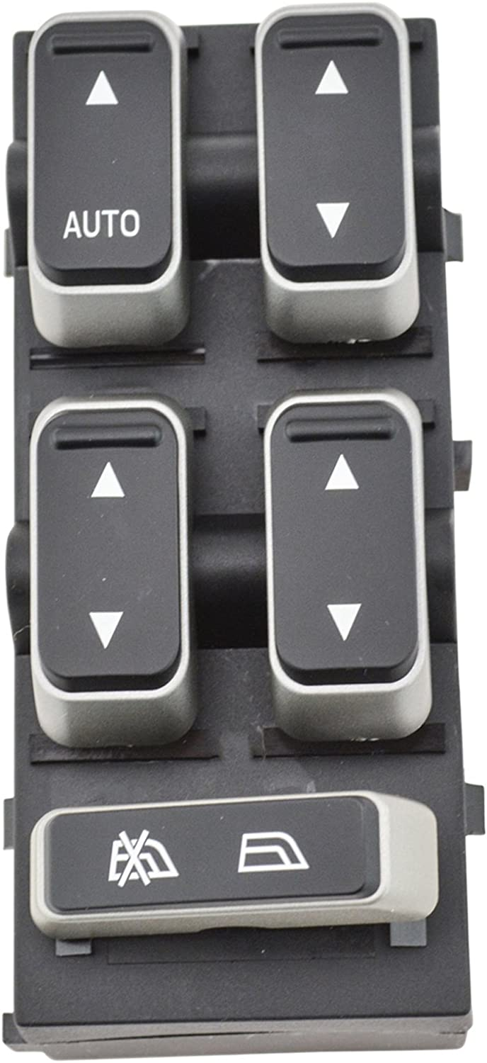 Master Power Window Switch Front Left LF LH Driver Side for 03-08 Town Car