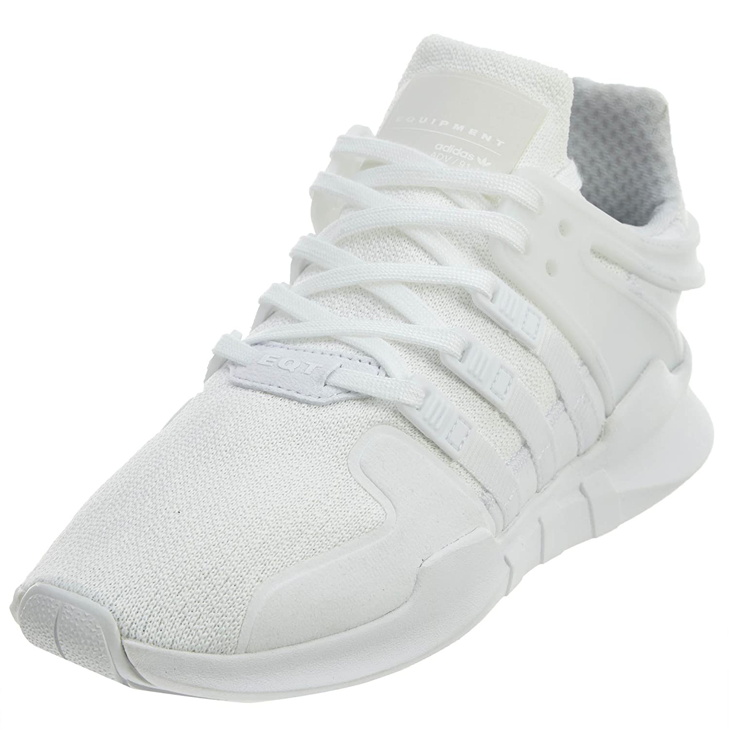 on sale d1700 2d35d adidas Originals Unisex EQT Support ADV J Running Shoe White, 4 M US Big Kid