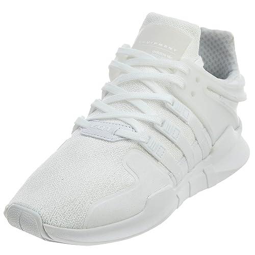 factory price 4fe91 c371e adidas Originals Unisex EQT Support ADV J Running Shoe White, 4.5 M US Big  Kid