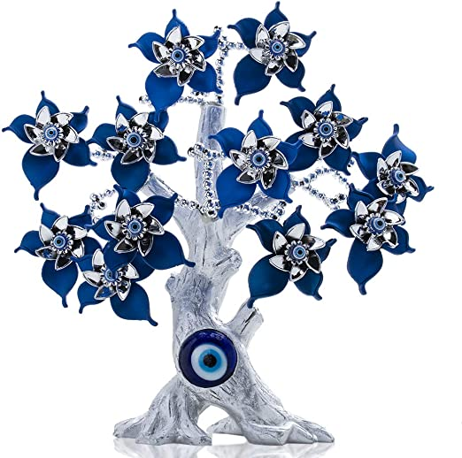 Silver Tree Of Life Ornament Home Decoration Elephant Design Sculpture Large