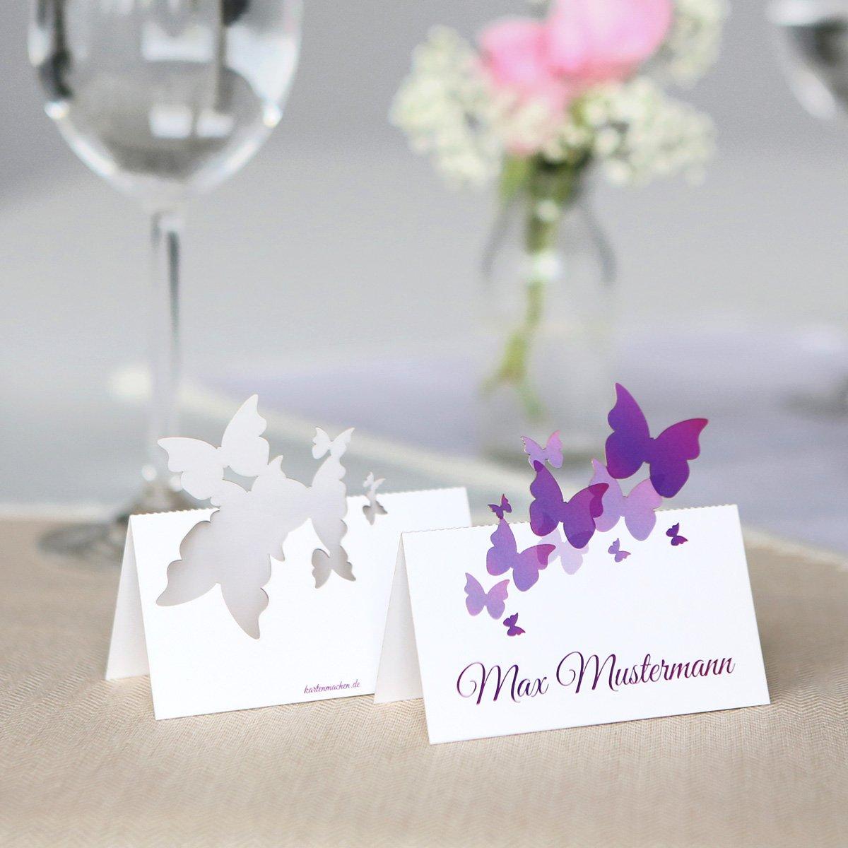 Pop Pop Pop up Tischkarten Hochzeit (40 Stück) - Schmetterlinge - Platzkarten B01MQRKU3R | Moderne Technologie  | Deutschland Store  | Praktisch Und Wirtschaftlich  009528