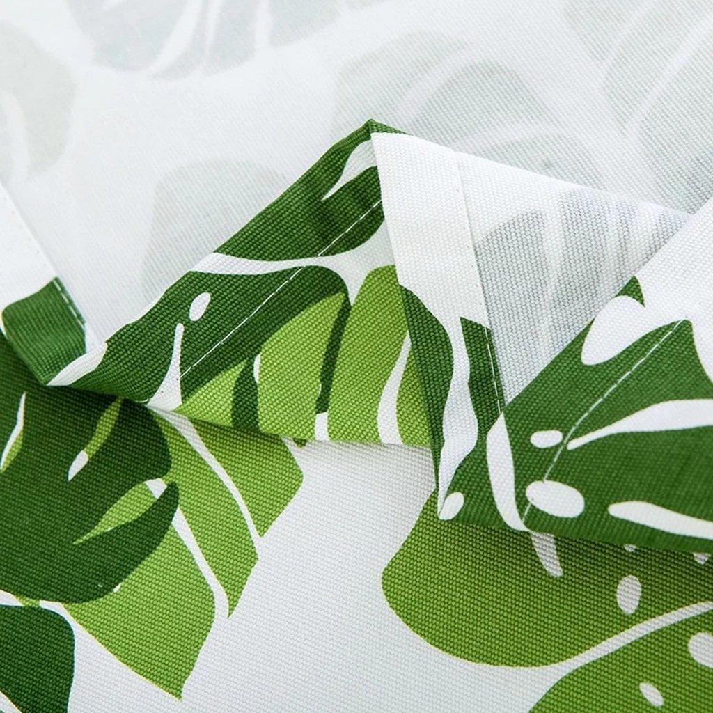 Tischdecke, Baumwoll-Leinen Einfache Art Aktiver Druck-Kaffeetisch Speisen Speisen Speisen Hitzebeständiges Tischtuch Rechteck ( größe : 90x150cm ) 8e78a7