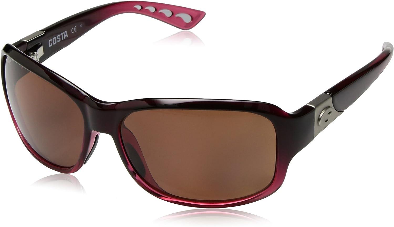 Costa Del Mar Women's Inlet Rectangular Sunglasses