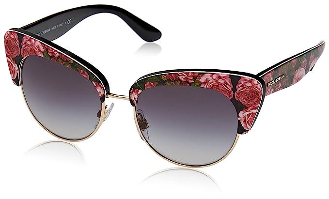 grande vendita 06eb0 27bd5 Sunglasses Dolce & Gabbana DG 4277 31278G PRINT ROSE ON ...